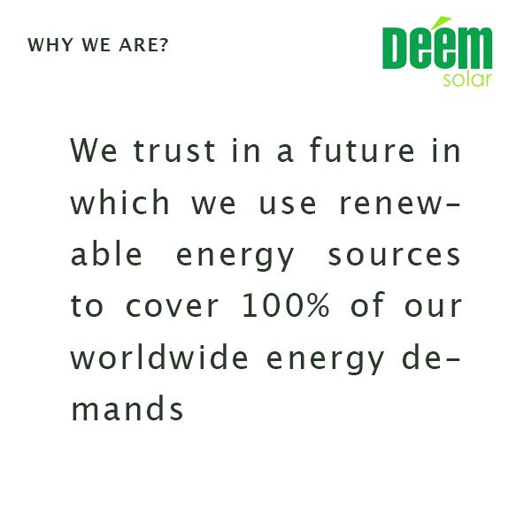 Why Deem Solar?