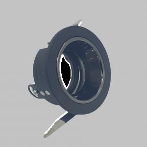 Black frame Model 102 -7.5 cm with anti-glare reflector