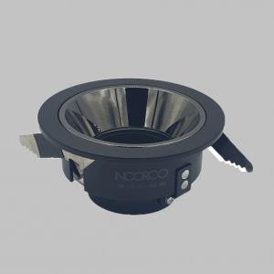 Black frame Model 102 - 10 cm with anti-glare reflector